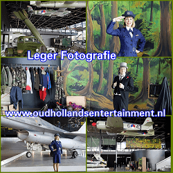 Leger Fotoshoot